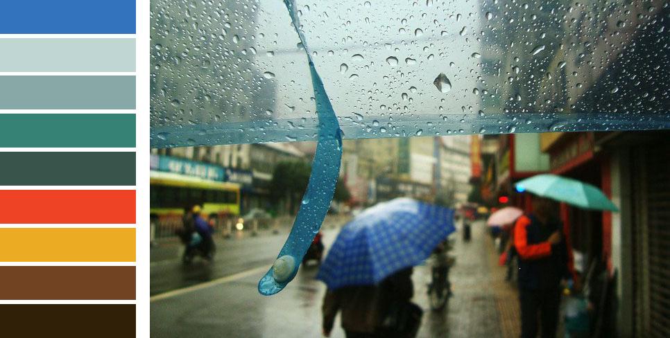 六月 雨季